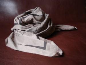 Chevrotine-foulard